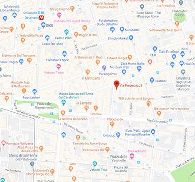 contatti studio legale valettini sede di roma